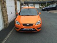 Ford Focus ST- Orange with Black alloys ,well looked after , pride and joy , first to see will buy!