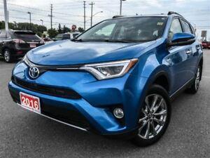 2016 Toyota RAV4 LIMITED+HYBRID!