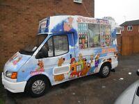 ice cream van soft Icecream 4 lid freezer fridge, electic