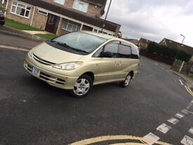 8 seats Toyota Estima 2001 Y reg Automatic 2.4 Petrol in Excellent condition very low Millage