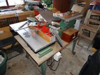 Kity combination wood working machine