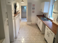 Romford RM1. Brand New Totally Refurbished & Redecorated 1 Bed Furnished Flat with Communal Garden