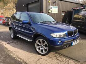 06 BMW X5 DIESEL LE MANS SPORT EDITION AUTO. 4X4. PX POSS