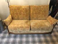 Ercol Renaissance High Back Sofa