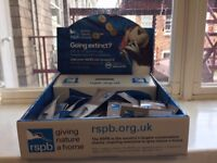 RSPB Volunteer Fundraiser (Pin Badges) - Worcestershire