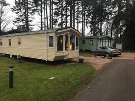 Static Caravan, 8berth 3 bedroom, sited at 5* Craigtoun Meadows St. Andrews