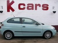 LOW INSURANCE 2006 SEAT IBIZA 1.2 REFERENCE LOW MILES GREAT FIRST CAR