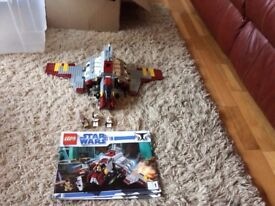 lego 8019 republic attack shuttle