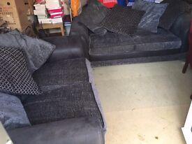 DFS Katrina 2 seater & 3 seater sofa bed