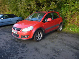 07 Suzuki SX4 1.6 GLX Automatic, Long MOT Great Runner