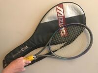 Mizuno pro light tennis racket and cover
