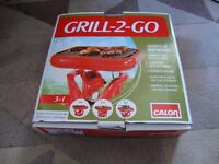 Grill 2 Go from calor gas, Barbecue anywhere, new, never used, boxed £10 ( FIXED PRICE )