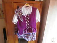 highland dance flora outfit