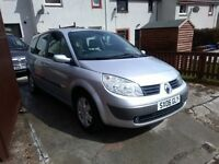Renault grand scenic 06 7 seat