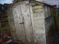 6 x 8ft Shed