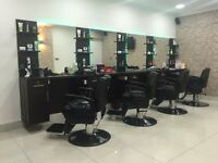 Barber and female hairdresser chair rent