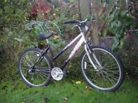 ladies raleigh explore,18 in frame,very tidy,runs perfectly