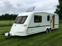 Abi Award 4 berth caravan twin axle excellent condition​