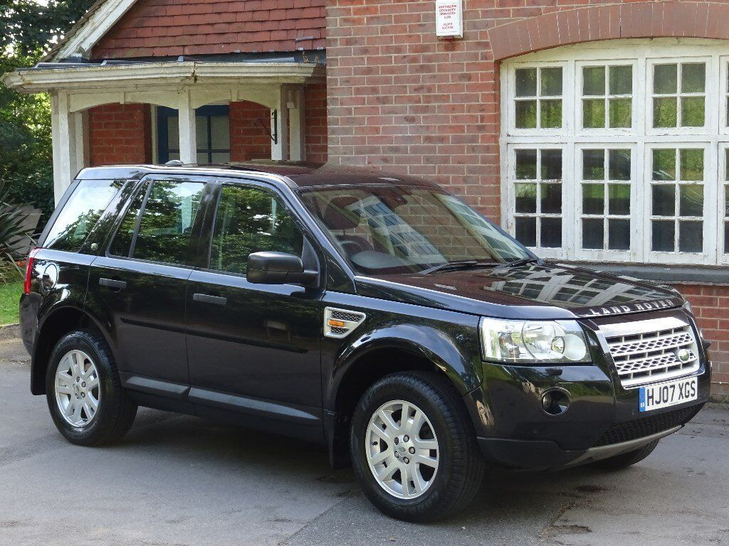 2007 07 land rover freelander 2 2 2 td4 se 5dr twin sunroof heated seats half leather. Black Bedroom Furniture Sets. Home Design Ideas
