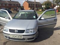 Volkswagen POLO 1.0 2001 LOW MILEAGE