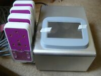 Lipo Laser fat melting machine with 4 paddles, like new