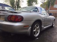 Mazda MX5 1.8-S low milage, hard top, leather seats