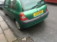 Renault Clio 2001 very cheap £199ono