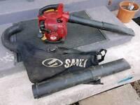 Sanli bv260 leaf blower/vacuum