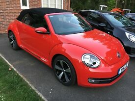 VW Beetle 1.6TDi Design Automatic Convertible