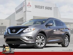 2016 Nissan Murano SL-Satellite Radio-Navigation System-Heated S