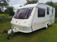 elldis shamal xl 4 birth caravan quick private sale