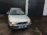 Volvo s40, 1999, FSH, MOT 26 Oct 2018 No Advisories, Just had FULL SERVICE, Only 68k Miles