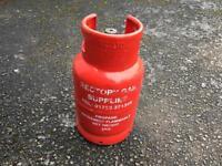 6kg full propane gas bottle