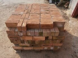 Buff coloured bricks X 490