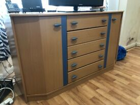 Shelving Unit with Hinged Side Door- Sale Cheap £100