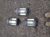 3 X OUTSIDE LIGHTS FOR SALE