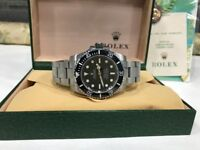 BrandNew Rolex submariner automatic sweeping movement with box