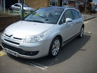 2008 58 REG DIESEL CITROEN C4 1.6 HDI 5 DOOR ONLY 57000 MILES WITH SERVICE HISTORY 1 FORMER KEEPER