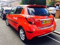 TOYOTA YARIS HYBRID 2015 EXCEL MODEL PANROOF FULLY LOADED NOT AURIS PRIUS MERCEDES BMW AUDI