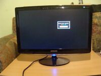 "samsung SyncMaster 24""full hd monitor computer pc monitor 24inch Perfect Condition"