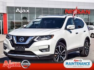 2017 Nissan Rogue SL Platinum*Nav*Leather*AWD