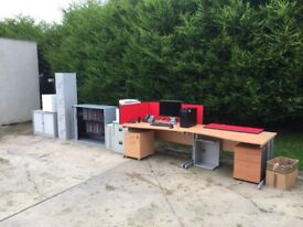 Full office furniture and accessories job lot!!