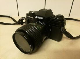 Vintage Centon DF-300 SLR Camera And Lens
