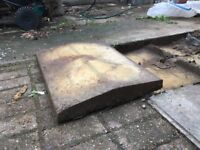 Free used concrete wall coping for collection (7)