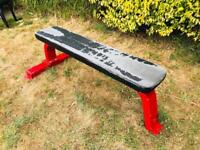 Heavy Duty Commercial Pro Flat Gym Bench