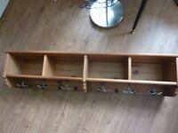 IKEA Leksvik Coat Rack and Large Shelf - storage etc