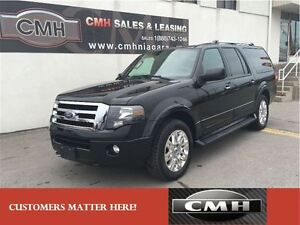 2012 Ford Expedition Max Limited 4X4 LEATHER NAVI. 8 PASS. *CERT
