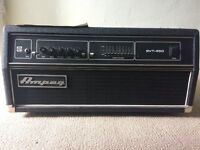 Ampeg SVT450H bass amplifier - great condition, rarely used.