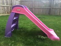 Little Tikes Pink & Purple Slide
