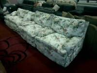 3 seater sofa & 2 armchairs tcl 20581